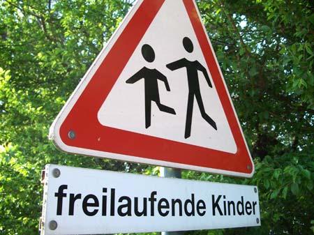 Freilaufende Kinder