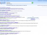 Suchergebnisseite Ixquick
