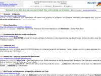 Suchergebnisseite Metager